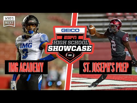 IMG Academy (FL) Vs. St. Joseph's Prep (PA) Football - ESPN Broadcast Highlights