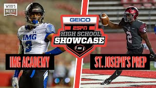 MG Academy FL Vs. St. Josephs Prep PA Football   ESPN Broadcast Highlights