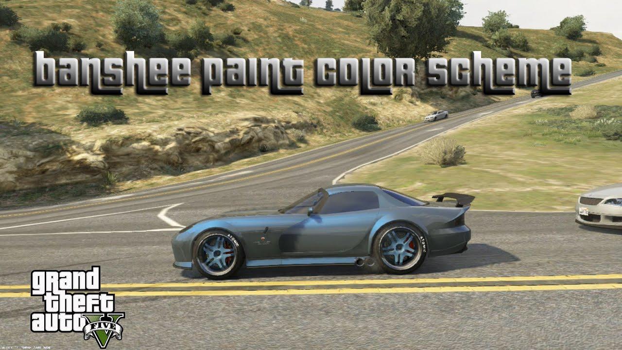 Gta Banshee Paint Color Scheme Best Drift Car On Gta Gta