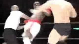 高田延彦 vs トレバー・バービック Nobuhiko Takada vs Trevor Berbick ...