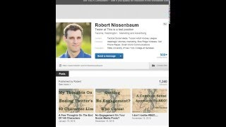 How to change the listing order of your current LinkedIn positions in your profile
