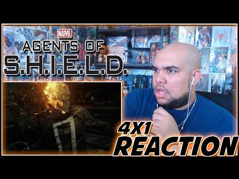 """Agents Of SHIELD REACTION Season 4 Episode 1 """"The Ghost"""" 4x1 Reaction"""