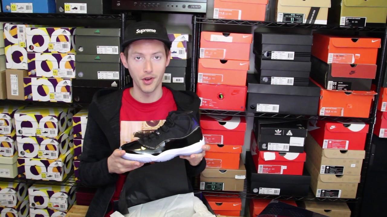 COPPED 90s GRAILS! Air Jordan XI Space Jam + Nike Foamposite One Royal f1b282914