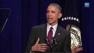 SHEFIGHTER IS MENTIONED BY PRESIDENT BARACK OBAMA