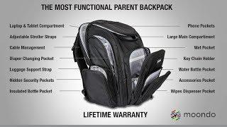 Moondo Parent Backpacks
