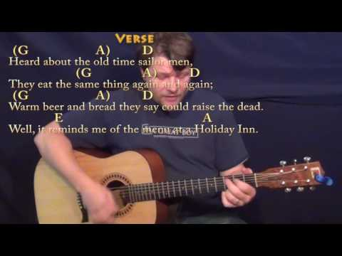 Cheeseburger in Paradise (Jimmy Buffett) Strum Guitar Cover Lesson with Chords/Lyrics
