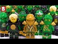 Every Lloyd Minifigure Ever Made!!! LEGO Ninjago Collection Review