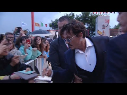 Waiting for the Barbarians Red Carpet | 76TH VENICE INTERNATIONAL FILM FESTIVAL | Johnny Depp