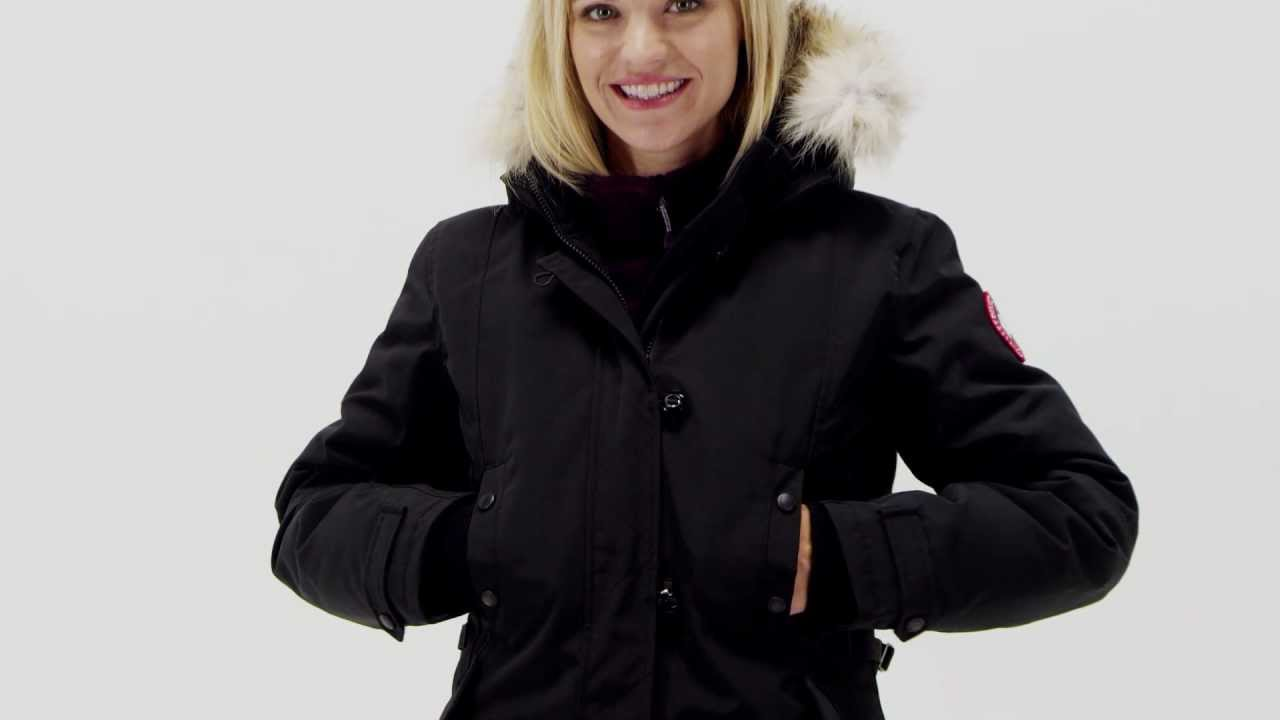 Canada Goose down sale discounts - Canada Goose Women's Kensington Parka - YouTube