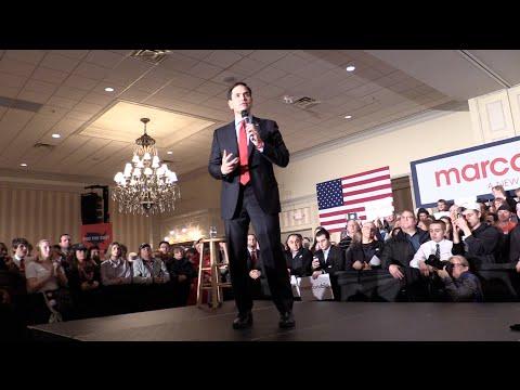 A Marco Rubio Pre Fox News Detroit Debate Rally 3/2/16
