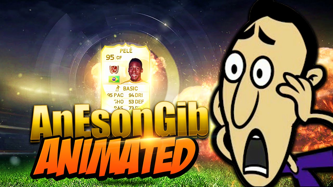 FIFA 15 PELE IN A PACK OPENING!!! - AnEsonGib Animated
