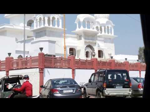 Indore AB ROAD, Vijay nagar square to LIG square and back.