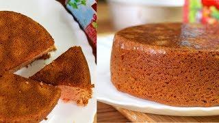 कुकर में बनाएं आटे और जैम से बिना अंडे का केक | Wheat Flour and Jam Cake in Pressure Cooker in Hindi