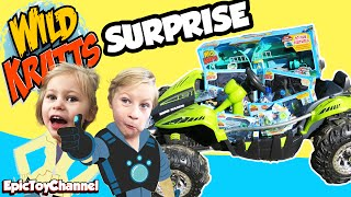 Giant wild kratts surprise + wild kratts tortuga play set, creature powers & power wheels surprise