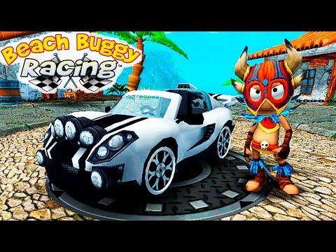 МАШИНКИ BEACH BUGGY RACING #11 гонки тачки ИГРА Веселое видео про машинки для детей VIDEO FOR KIDS