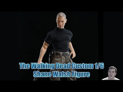 The Walking Dead - Custom Shane Walsh 1/6 Action FIgure And My Thoughts On The Mcfarlane TWD Line!