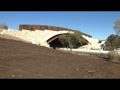 Hardberger Park land bridge set to open to public on Friday afternoon