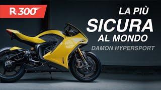 Damon HyperSport HS 2020 elettrica, la moto più sicura al mondo fa i 320km/h - RED300 n°62