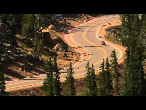 The Ducati Multistrada wins the 2012 Pikes Peak International Hill Climb