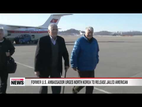 Former ambassador urges Pyongyang to release jailed Korean-American Kenneth Bae