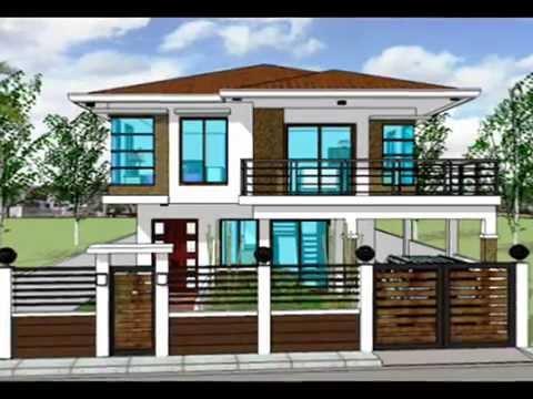 casa moderna tip american proiect case moderne americane