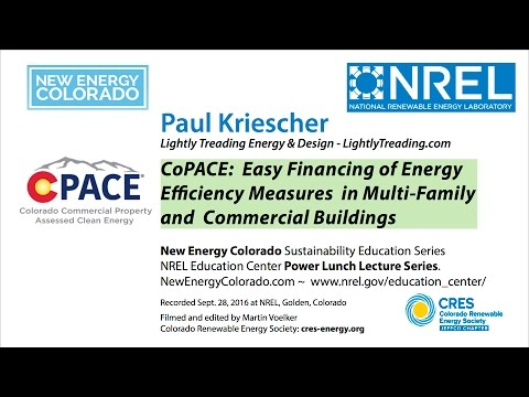 C-PACE Easy Financing for Energy improvements for Commercial & Multi-Family buildings