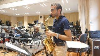 Astor Piazzolla Tango Etude No. 5 for saxophone, David Hernando Vitores