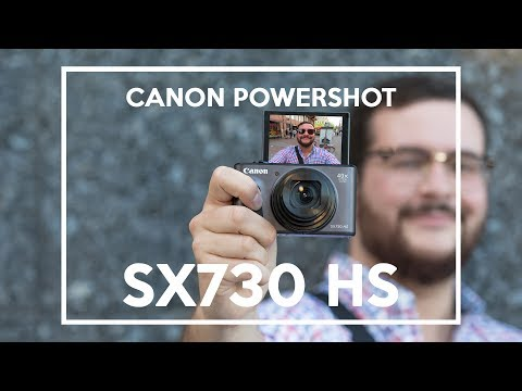 Canon PowerShot SX730 HS english review | 40-OPTICAL ZOOM |