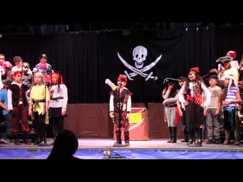 Castleberry Elementary 4th Grade Pirate Musical