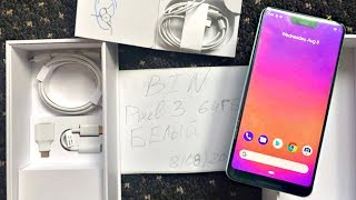 Google Pixel 3 XL UNBOXING & HANDS ON LEAKED!!!