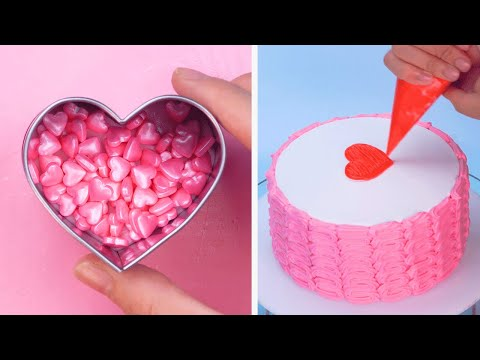 Amazing Sweet Heart Cake Recipe for Your Darling | Tasty Chocolate Cake Decorating Ideas