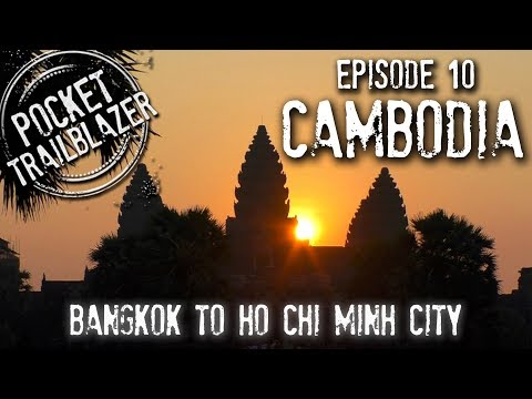 Backpacking Cambodia Ep.10 - FRIED TARANTULA ANYONE? : Bangkok to Ho Chi Minh City
