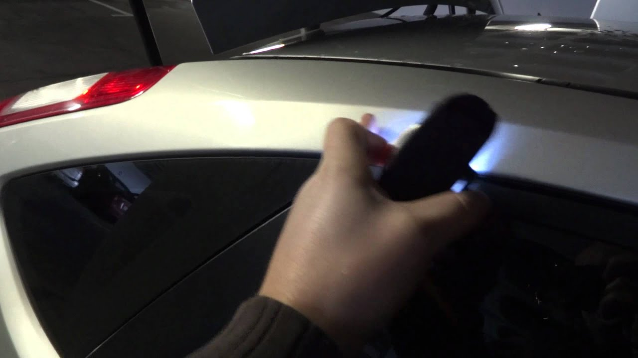 How To Fix Leaking Water In To The Boot On Ford Focus Mk Youtube