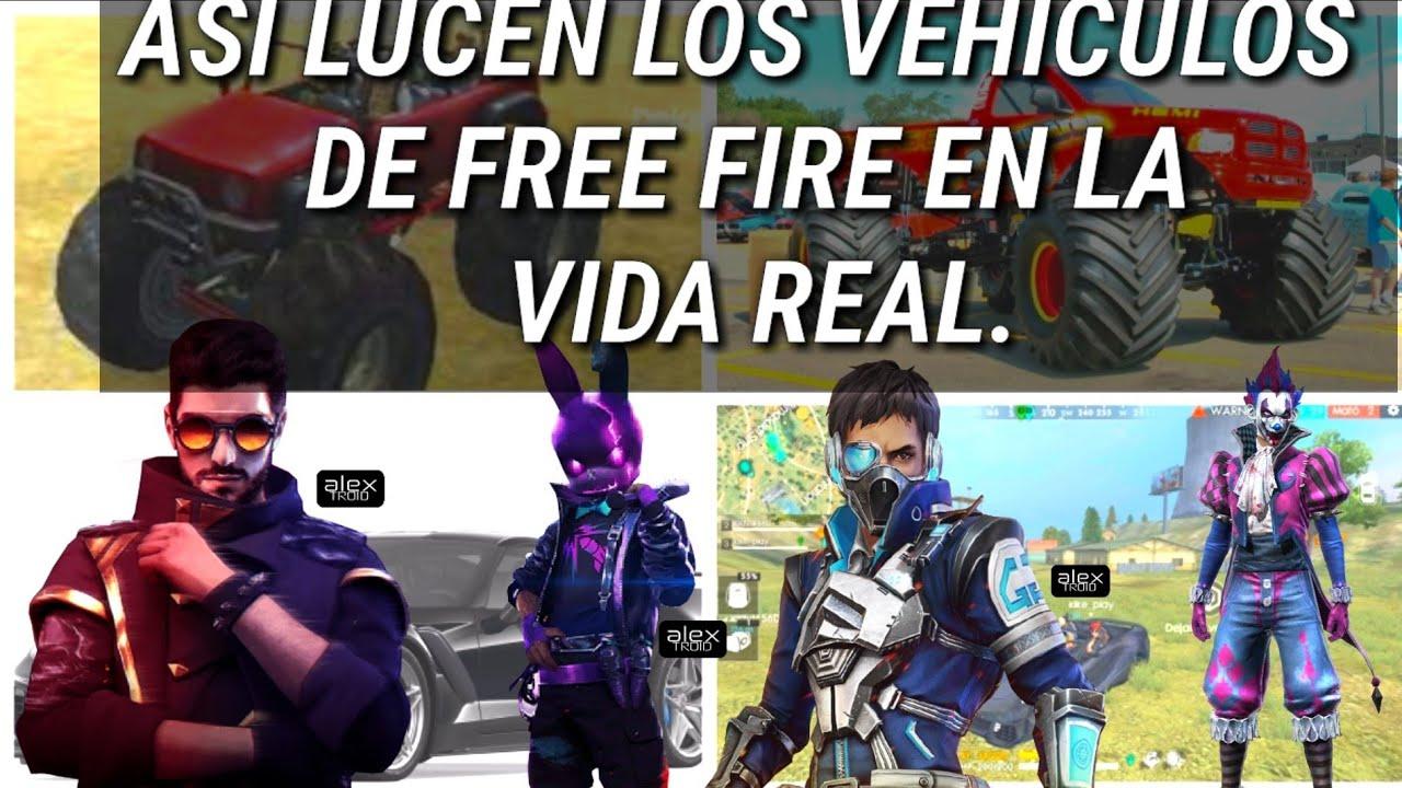 ASI LUCEN LOS VEH�CULOS DE FREE FIRE EN LA VIDA REAL ...