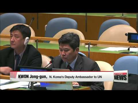 UN General Assembly adopts resolution on N. Korea's human rights abuses