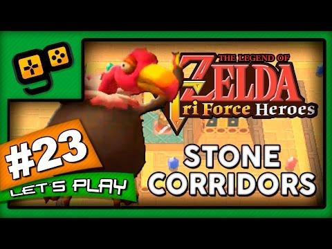 Let's Play: Zelda TriForce Heroes - Parte 23 - Stone Corridors