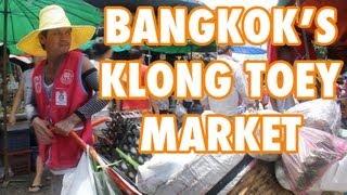Klong Toey Market - Bangkok's Breadbasket (ตลาดคลองเตย)