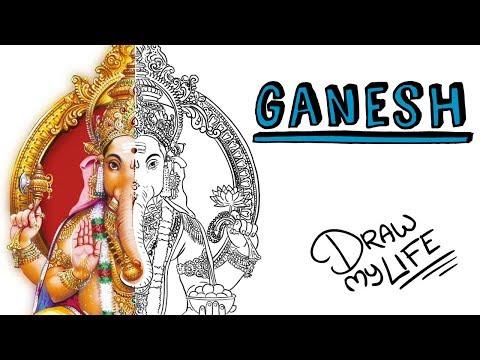 GANESH EL DIOS DE LA BUENA SUERTE | Draw My Life
