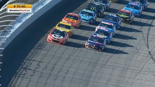 Monster Energy NASCAR Cup Series 2017. Michigan International Speedway. Restart & Last Laps