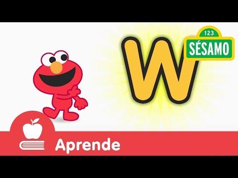 Sésamo: Elmo y la letra W