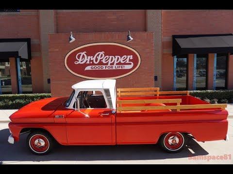 1965 Chevy C10 Custom Cab Fleetside Pickup Truck in 4K
