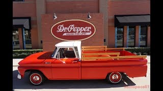 1965 Chevy C10 Custom Cab Fleetside Pickup Truck in 4K