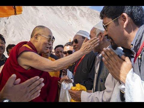 Dalai Lama of Tibet meets with Members of the Muslim Community