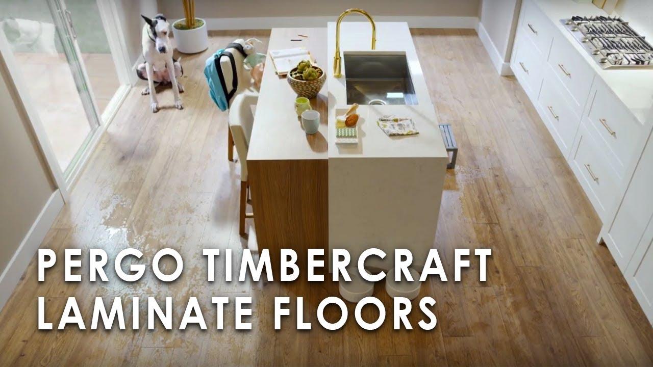 Pergo Timbercraft Laminate Floors Youtube
