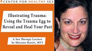 """Illustrating Trauma: Using the Trauma Egg to Reveal and Heal Your Past"" lecture by Shereen Hariri"