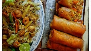 Lumpiang Togue with Sotanghon /Luweeh's Kitchen