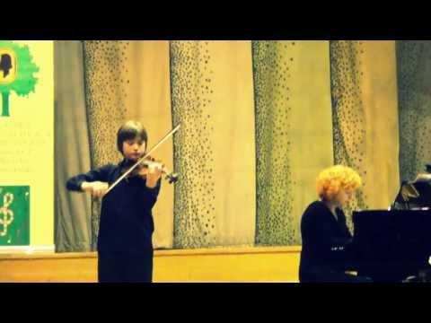 Wieniawski Polonaise No.1 In D Major (Bogdan Yusufhanov, 12 Yo)