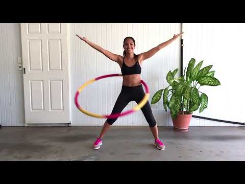 Healthy Model Life Fitness Hula Hoop workout by Rachael Attard