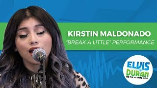 Kirstin Maldonado Break A Little Acoustic Elvis Duran Live