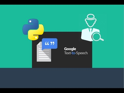 Hacking through Google's Text to Speech API